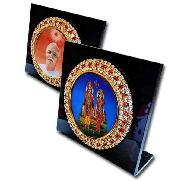 Brahma Kumaris Car Dashboard Stand