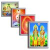 Brahma Kumaris Photo Frame Night Lamp (Wall Plug)