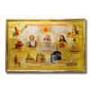 All Religions Decorative Golden Frame Art