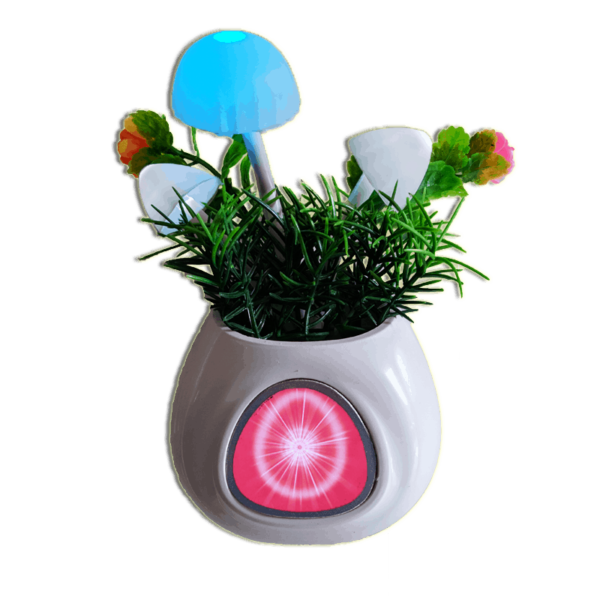 Brahma Kumaris Flower Pot Night Lamp (Wall Plug)