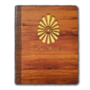 Brahma Kumaris Wooden Art Notebook/Diary